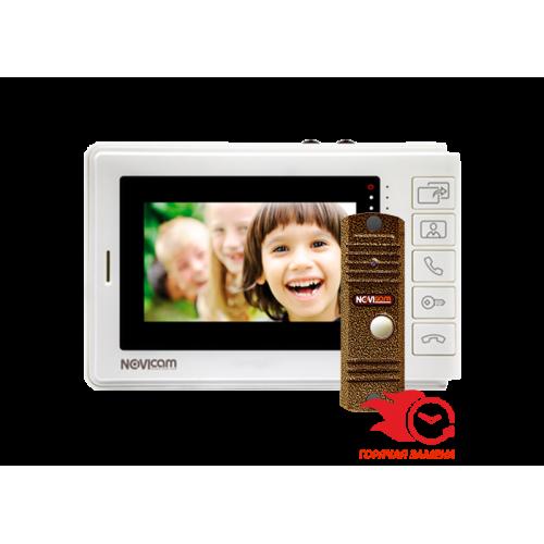 Комплект видеодомофона NOVIcam SMILE 4 KIT (ver.4574)