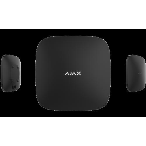 Интеллектуальный центр системы безопасности Ajax Hub Plus (черный/белый)