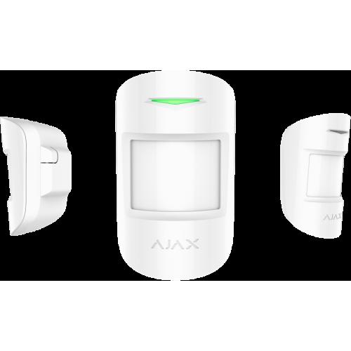 Датчик движения с фотокамерой для верификации тревог Ajax MotionCam (черный/белый)
