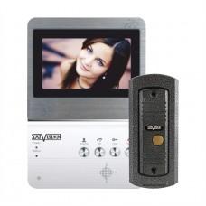 Видеодомофон SVM-403 HOME цветные монитор + вызывная панель