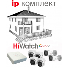 IP ColorVu комплект STREET/DOM 6