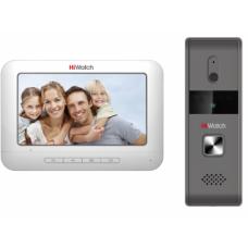 Комплект аналогового видеодомофона c памятью до 200 снимков HiWatch DS-D100KF