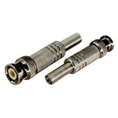 Штекер BNC с пружиной металл/улучшенный/SAT
