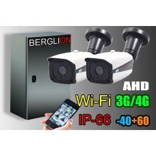 Мобильный модуль видеонаблюдения AHD 2 (720)